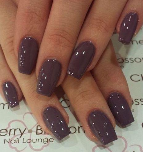 Glamorous Dark Brown Nail Polish Autumn Nails Fall Nail Colors