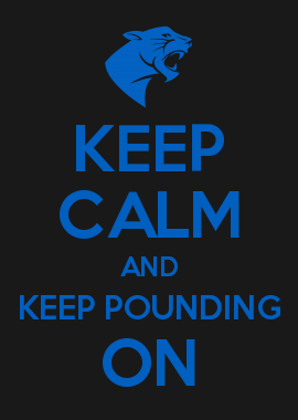 foto de KEEP CALM AND KEEP POUNDING ON | Keep calm birthday, Calm gift