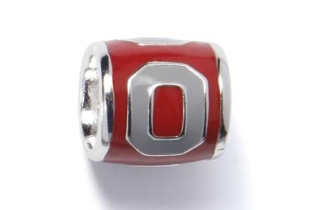 Ohio State Block O on Red Bead, $34.99