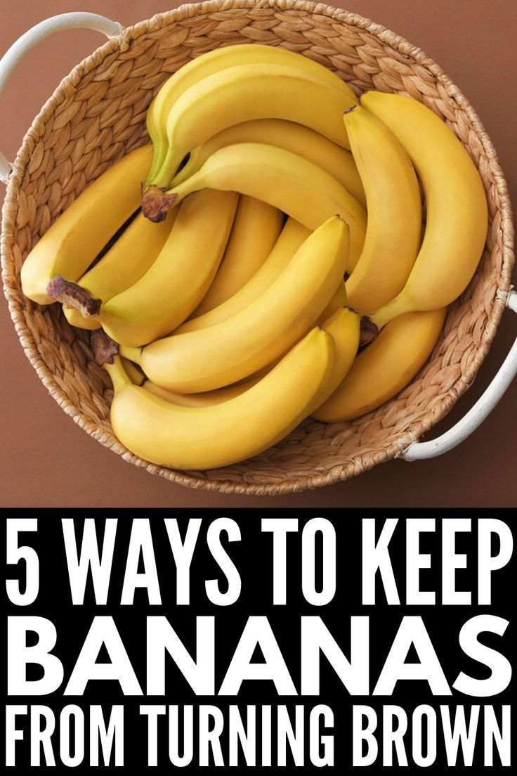how to preserve bananas longer