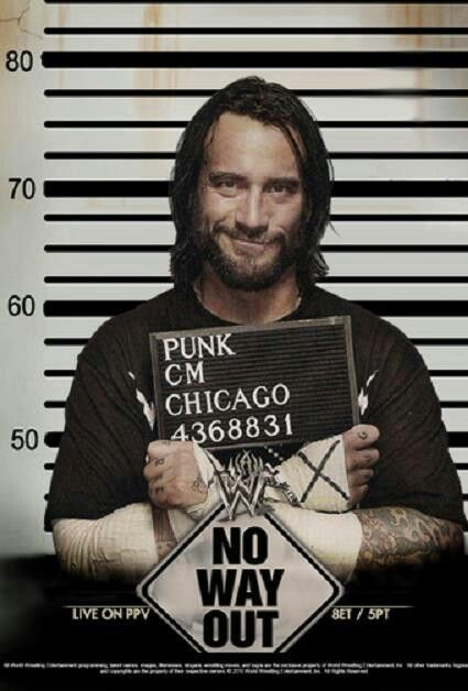 Cm punk = sexiness with a twist of straightedge.