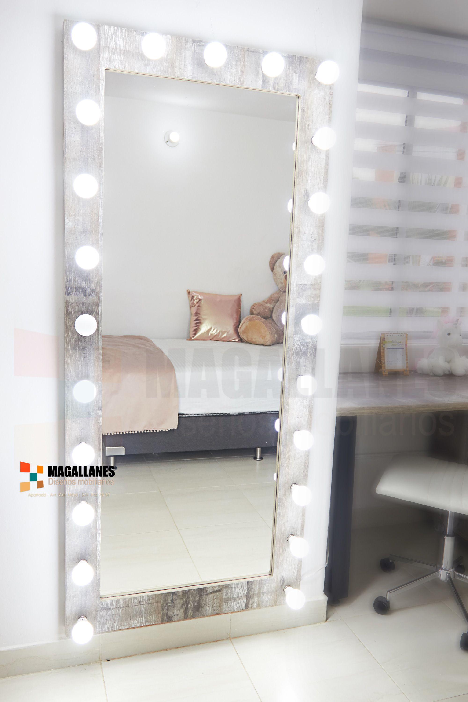 Espejo Luces | Decoracion de paredes dormitorio ...