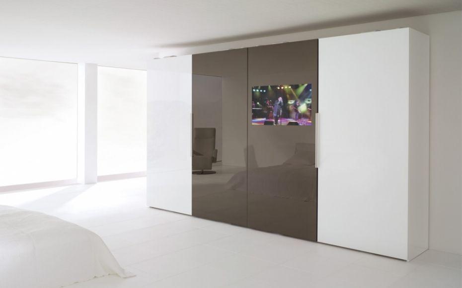 Rüttimann  Ceneri - der monoplane Schiebetürschrank mit - schlafzimmerschrank mit tv