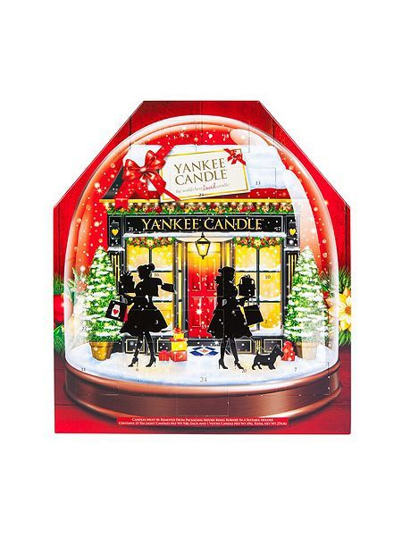 Snow Globe Advent Calendar Gift Set Yankee Candle Advent Yankee