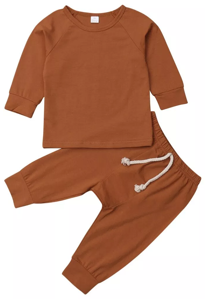 f7544245fd4f2 Solid Tracksuit Set | Trendy Sets | Baby boy outfits, Trendy baby ...