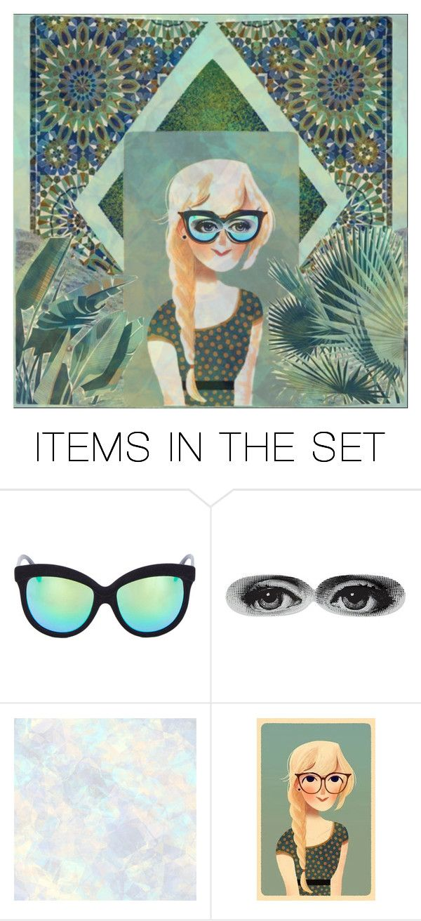 """""""pondering"""" by jazzy ❤ liked on Polyvore featuring art"""