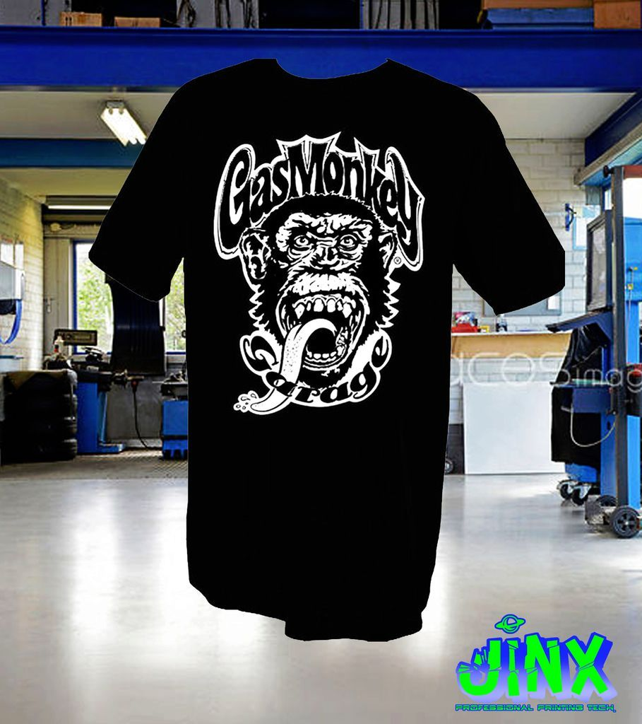 $179.00 Playera o Camiseta Gas Monkey - Comprar en Jinx
