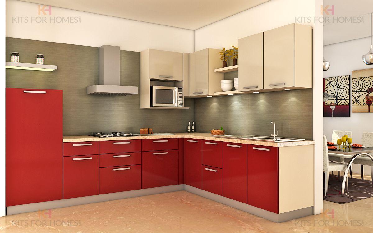l shaped modular kitchen  kitchen designs layout kitchen