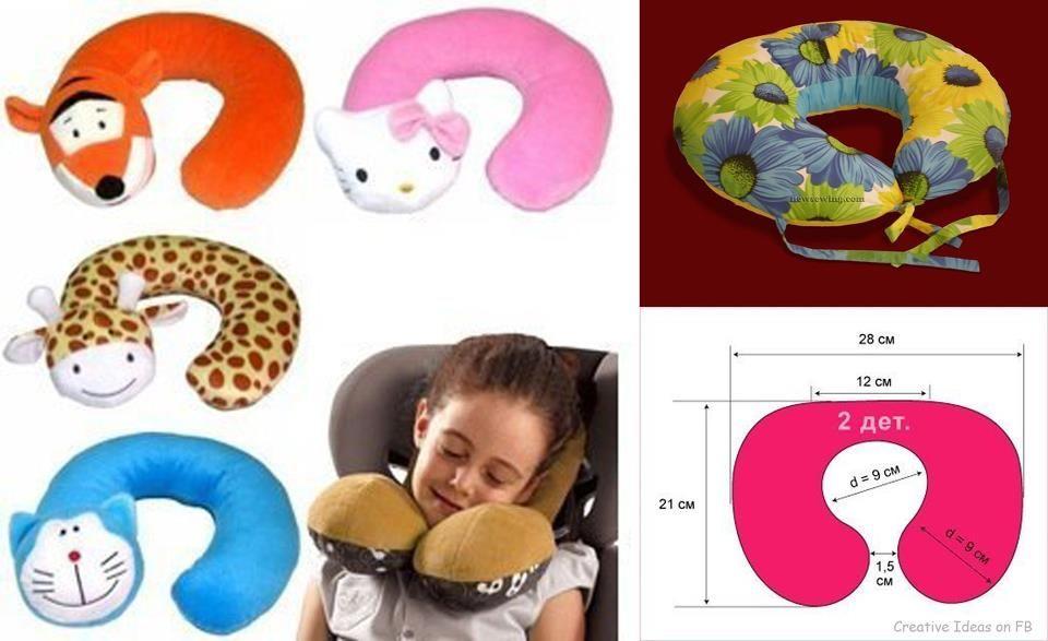Pillow under the neck | apoya cabeza | Pinterest | Costura, Moldes y ...