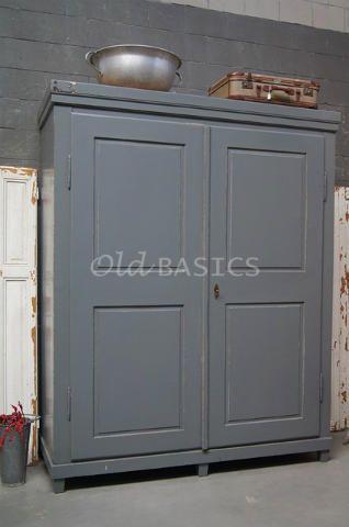 houten kasten | old basics | kasten | pinterest, Deco ideeën