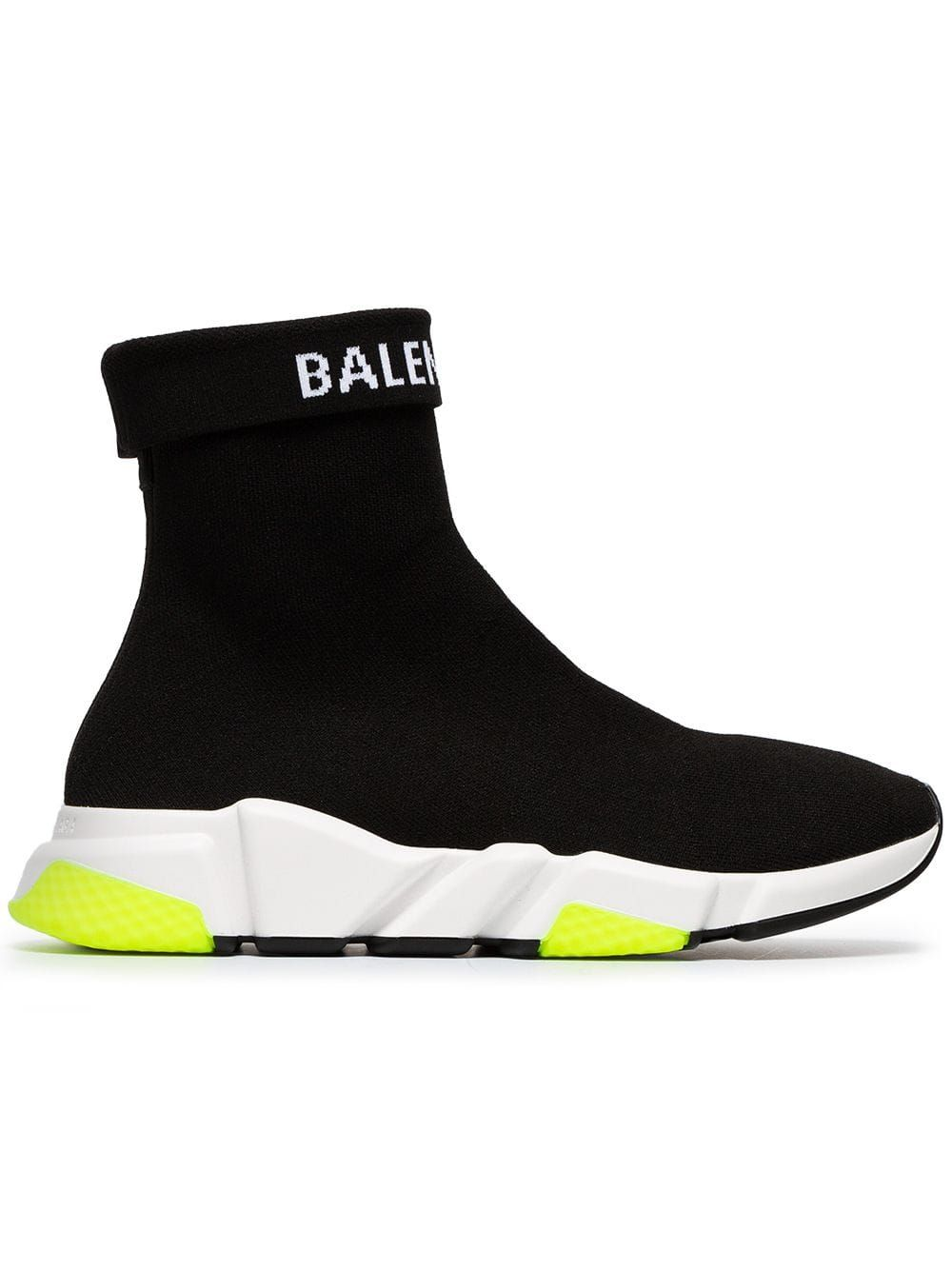 wholesale price new images of new arrival Balenciaga Speed Stretch-Knit Sneakers - Black | Shoes in ...