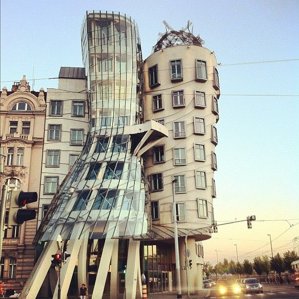 Best American Architects: The Famous Nationale-Nederlanden Building, Nicknamed