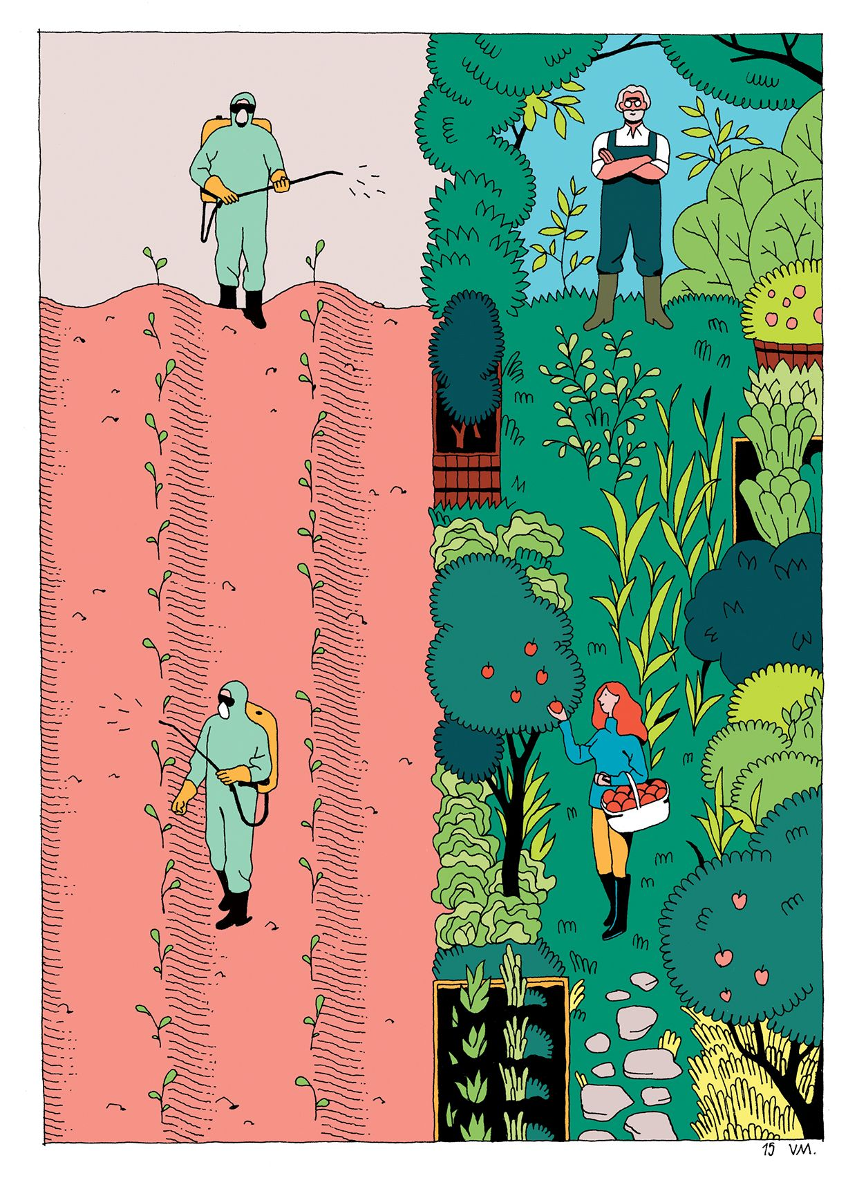 """From the book """"Demain"""" illustrated by Vincent Mahé"""