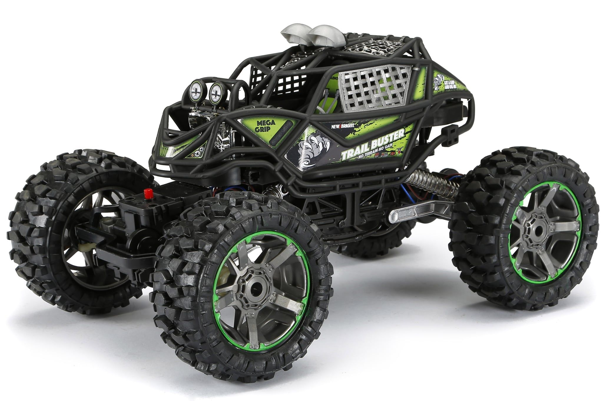 New Bright RC 110 Scale 4x4 Radio Control Trail Buster