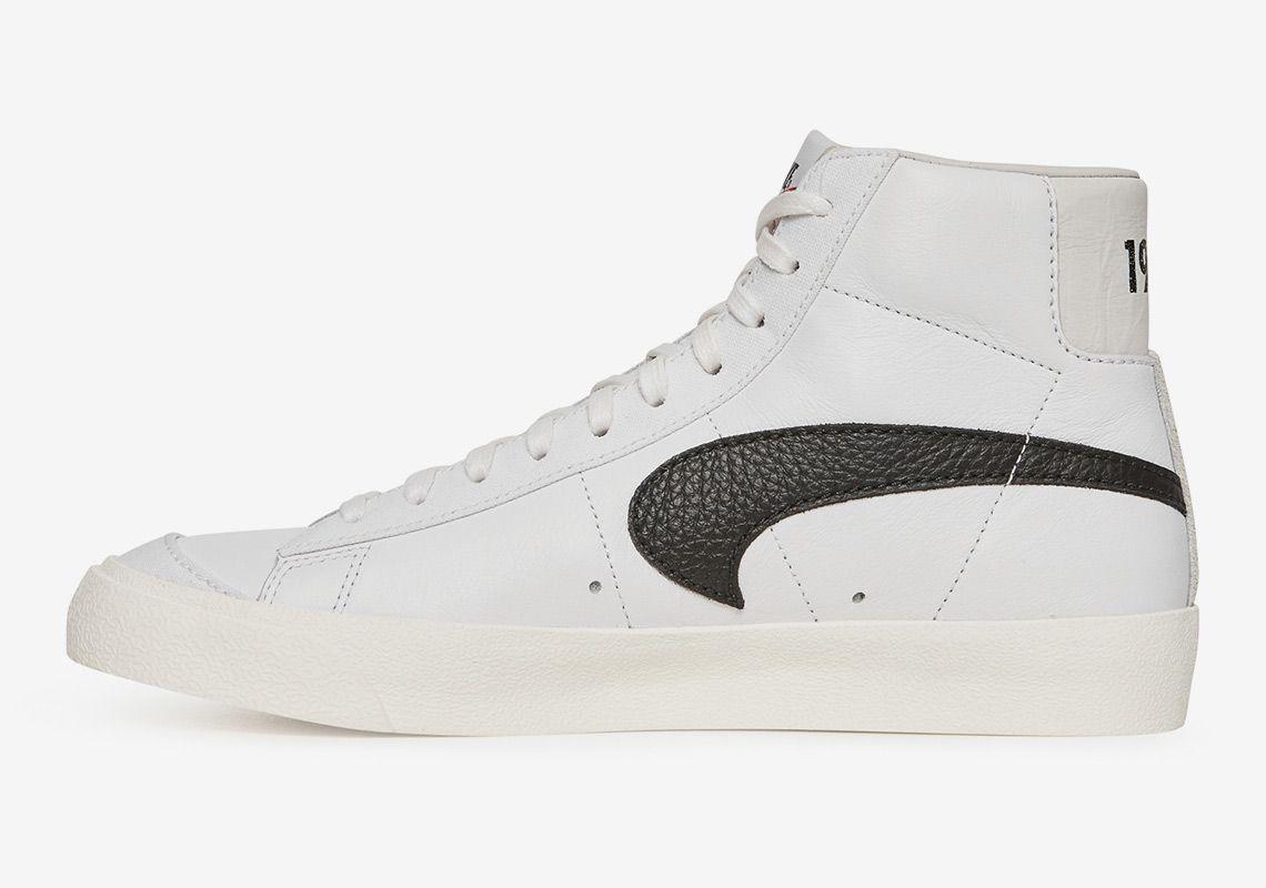 Slam Jam Nike Blazer Upside Down Swoosh Info   Design