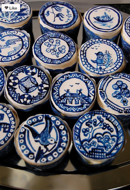 Kimberly Schlegel Whitman I Heart Blue and White Blue Willow China & Cupcakes! Kimberly Schlegel Whitman: I Heart Blue and White: Blue ...