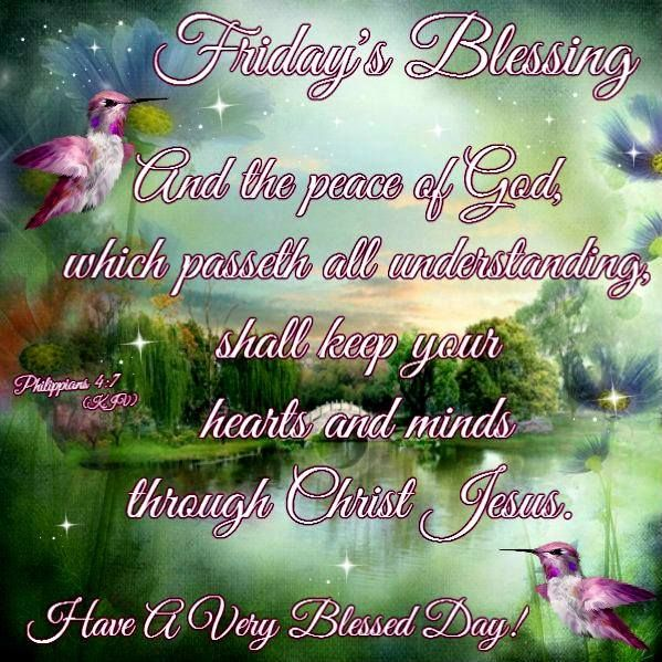 Friday Morning Blessings Quotes Good Weekend