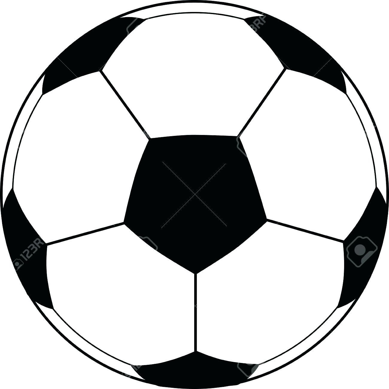 Big Soccer Ball Coloring Pages Printable Coloring Page For Kids