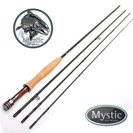 Mystic M Series Fly Fishing Rod 9 3 For 4 Weight Line 4 Piece 11 Main Fly Fishing Rods Fly Rods Fly Fishing