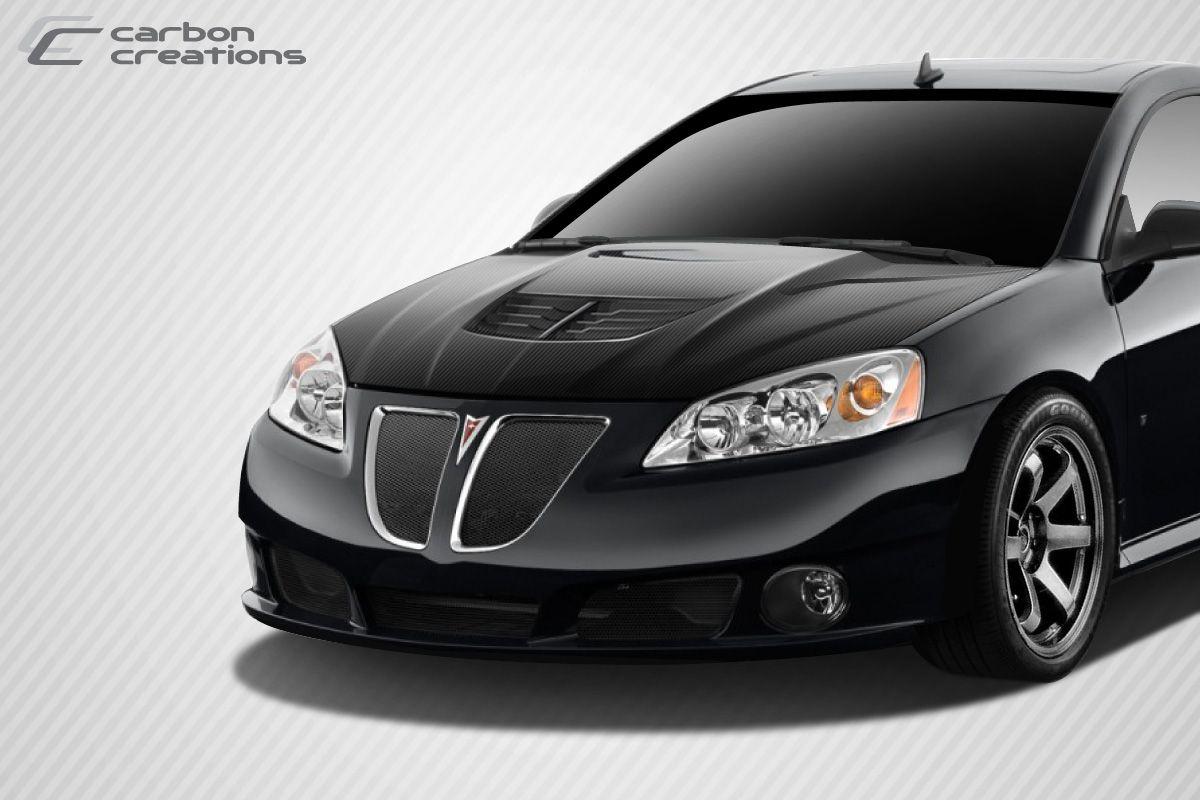 2005 2009 pontiac g6 carbon fiber stingray z hood 1 piece