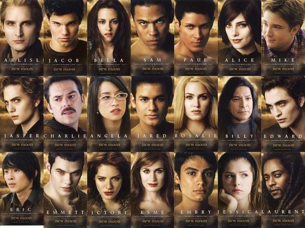 New Moon cast | twilight | Twilight cast, Twilight movie