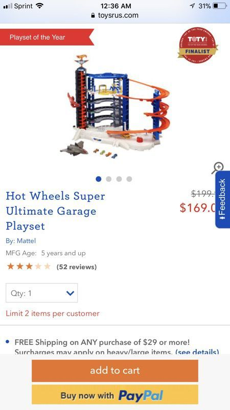 Hot Wheels ' Super Ultimate Garage Playset for Sale in