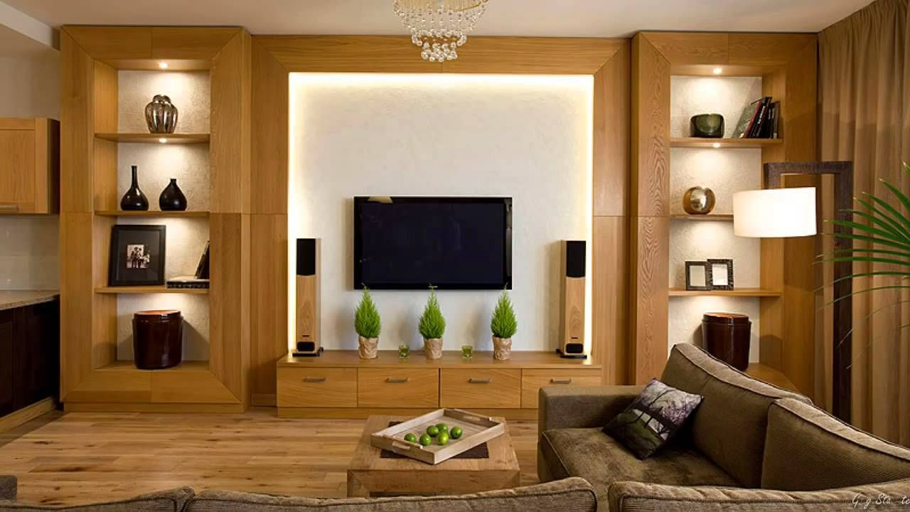 Wall Unit Decor Ideas In 2020 Living Room Units Living Room Tv Wall Modern Tv Wall Units #wood #cabinets #living #room