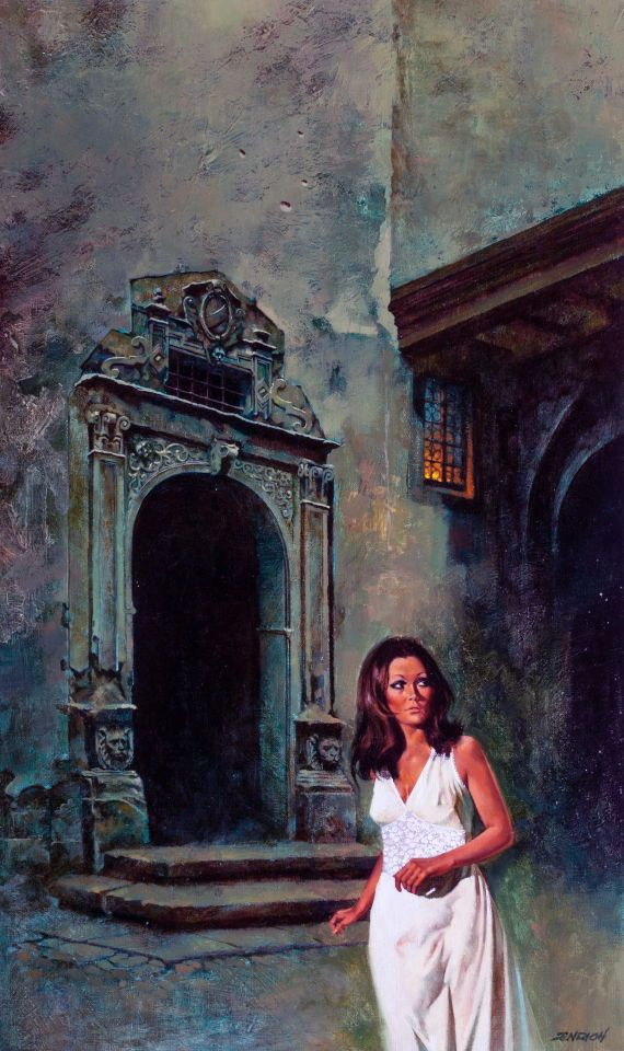 The House of Sinister Shadows by Enrich Torres, 1972