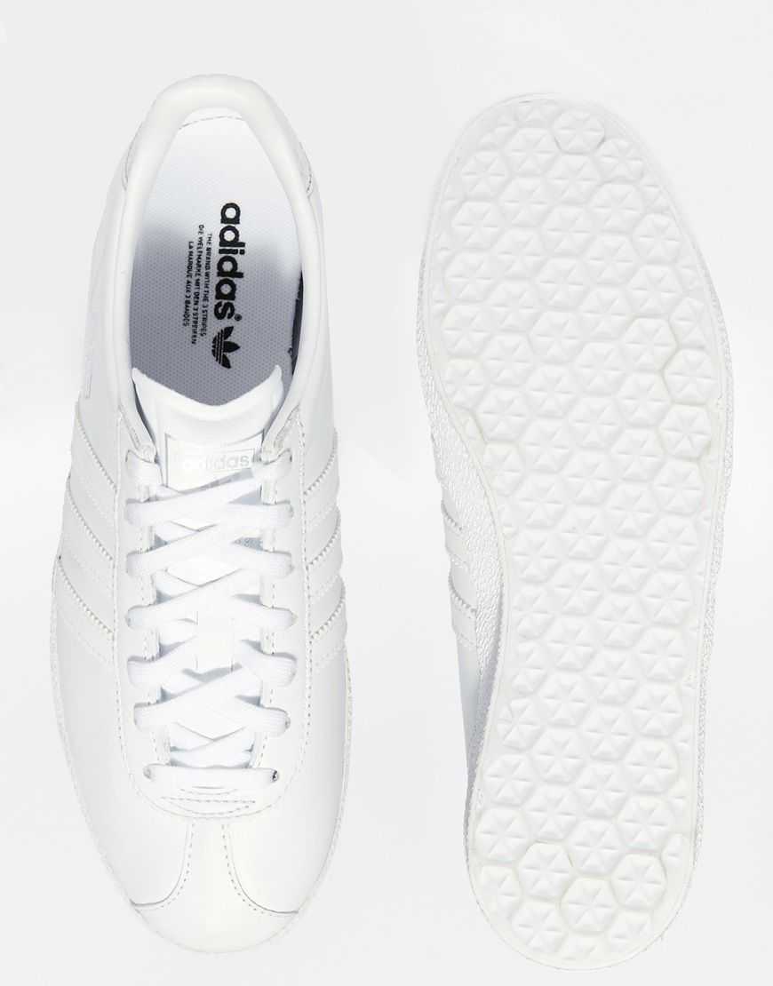 adidas originals gazelle wit