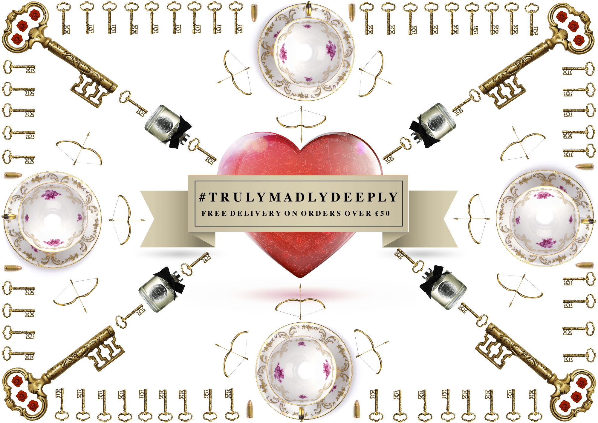 #‎trulymadlydeeply‬ ‪#‎lifeslittleluxuries‬   Find the perfect gift for your true love.