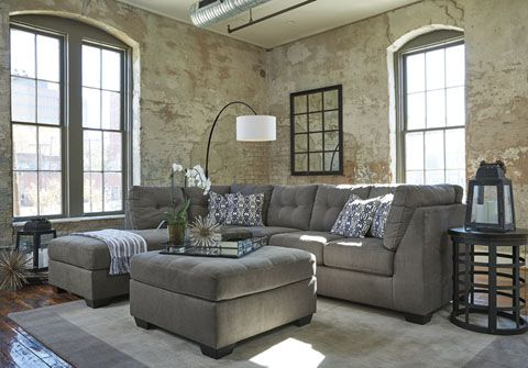 Sectionnel Pitkin Meubles Ashley Living Room Decor Gray Living Room Sofa Furniture