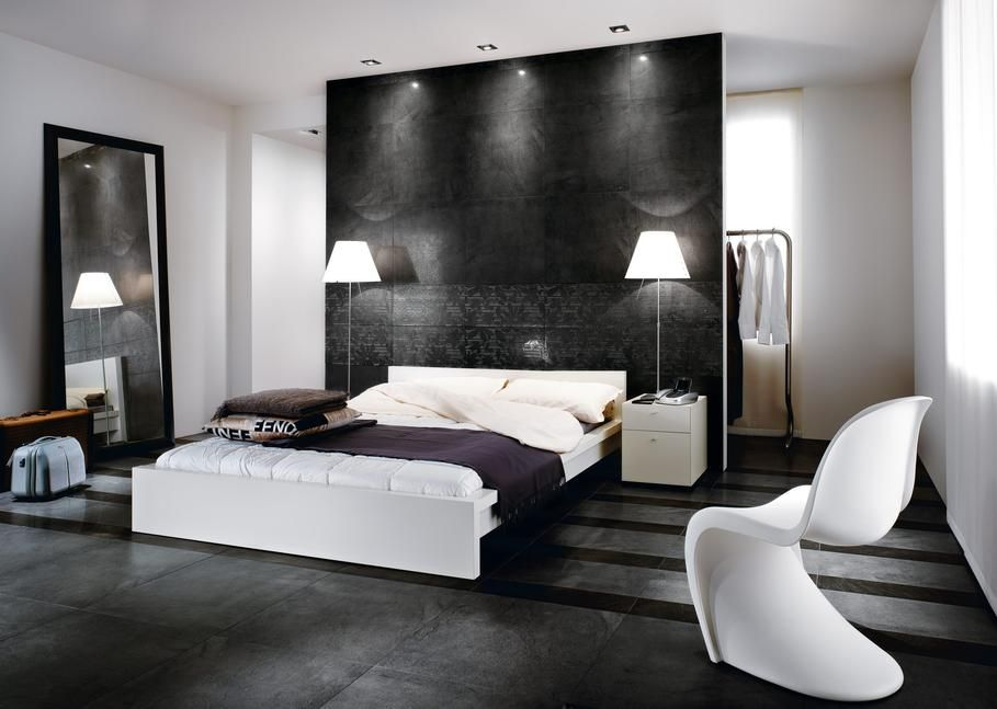 deco chambre parentale moderne. Black Bedroom Furniture Sets. Home Design Ideas
