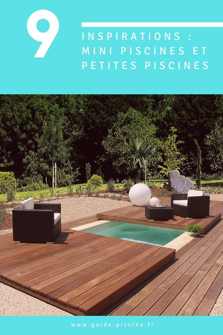 Inspirez Vous Avec Nos Photographies De Mini Piscines Dans Le Jardin Minipiscine Piscine Mini Petite Semi Enterree Mini Piscine Piscine Petite Piscine