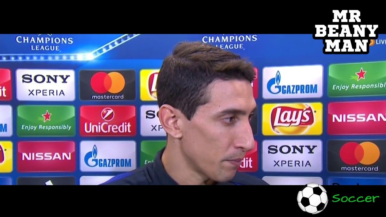 PSG 40 Barcelona Angel Di Maria Post Match Inte Best