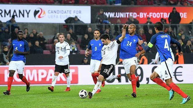 Frankreich Gegen Deutschland 2021