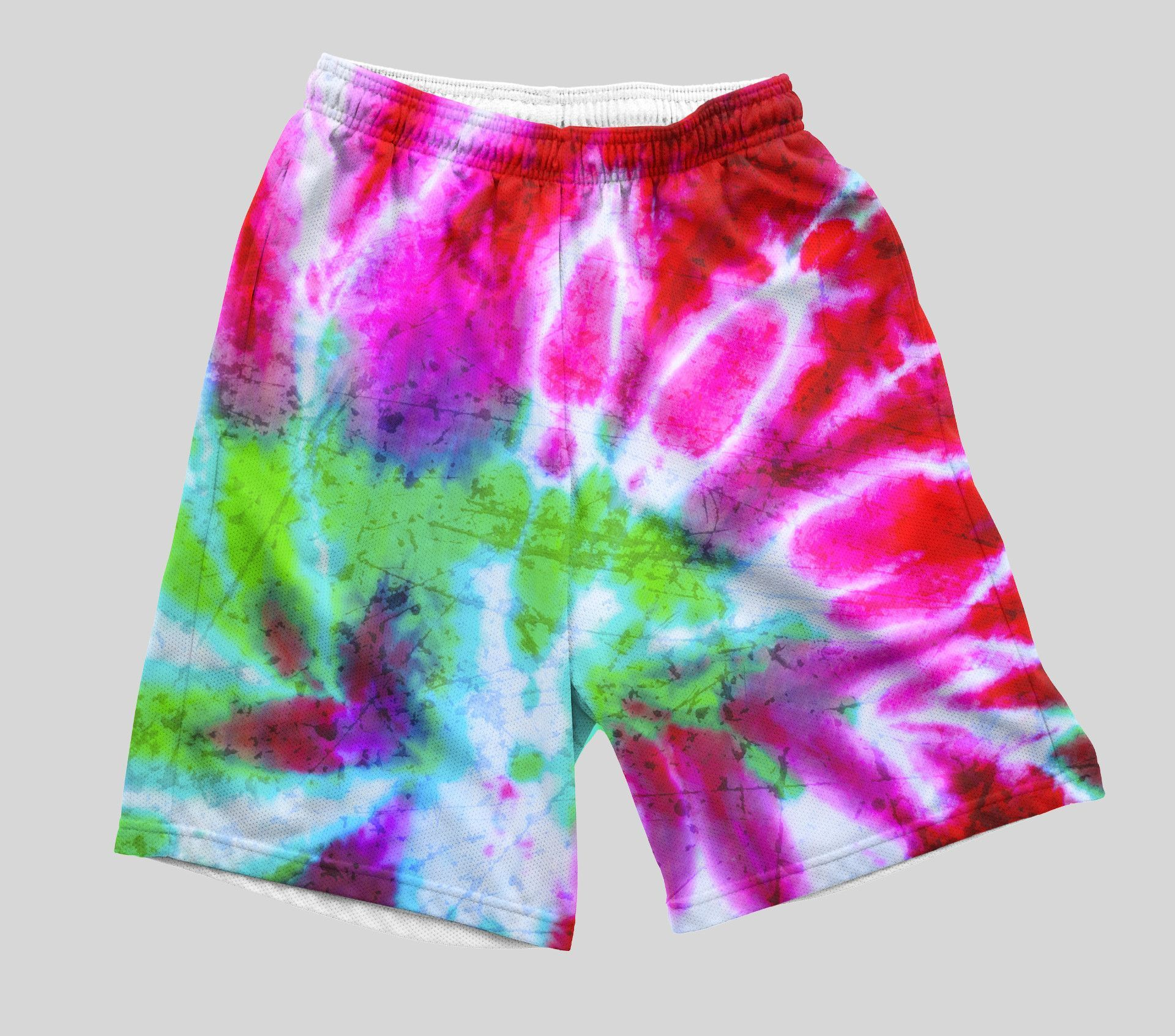 Troll Tie Dye Shorts  Tie dye shorts and Products