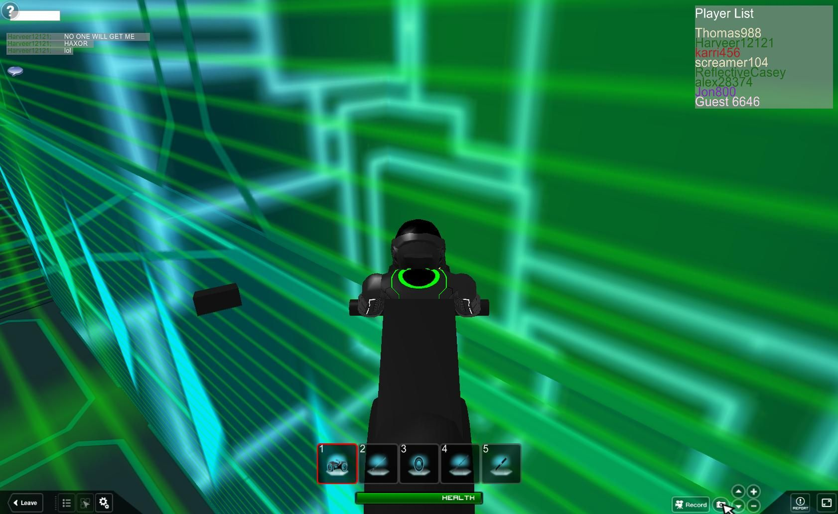 Roblox Using Video To Report Tron Legacy In Roblox Roblox Tron Legacy Tron