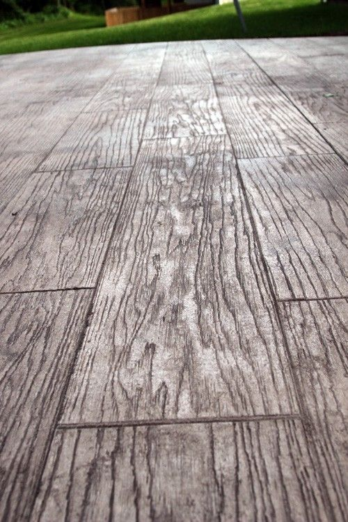 Stamped Concrete To Look Like Wood Google Search Stamped