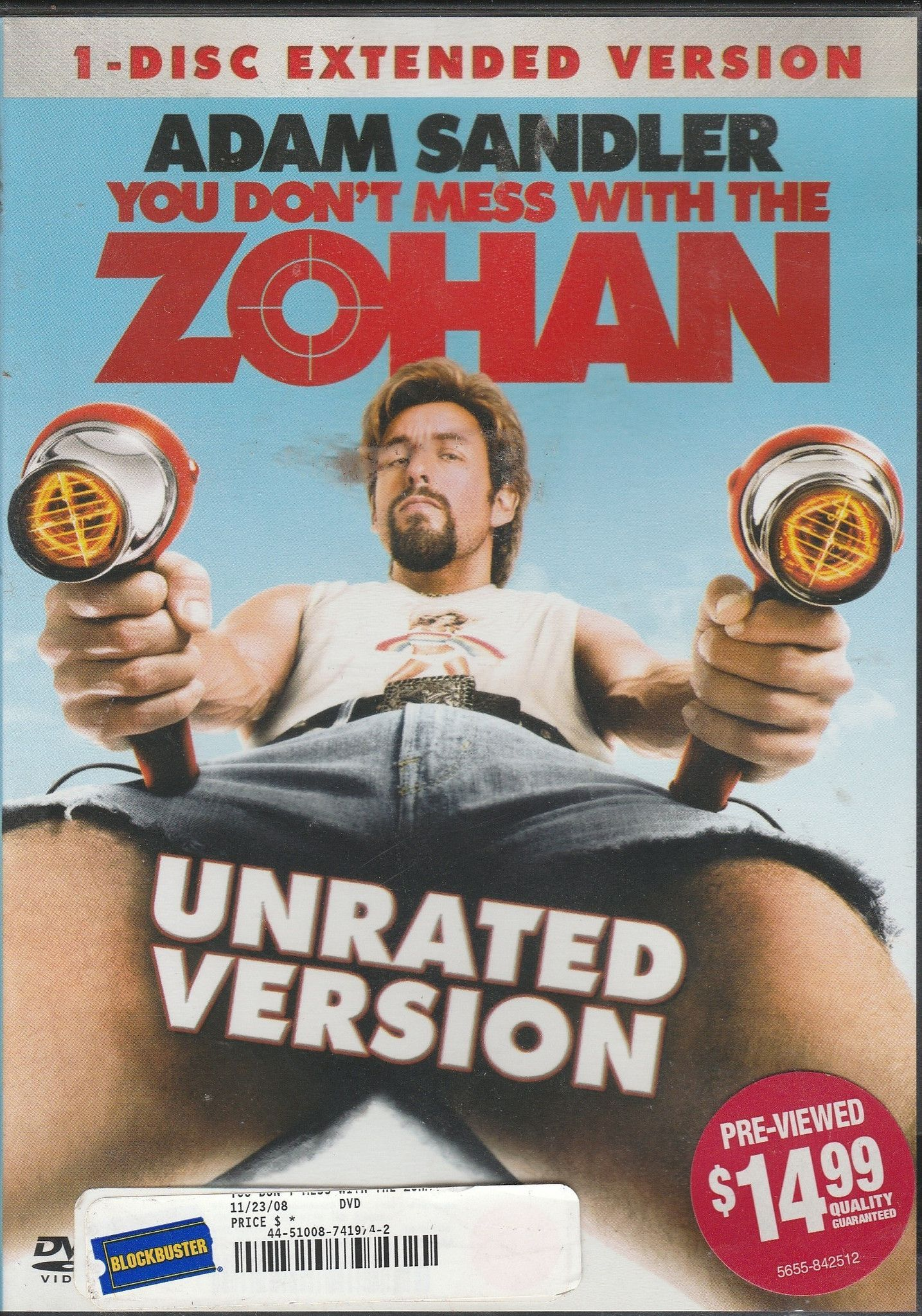 You Don T Mess With The Zohan Dvd Filmes