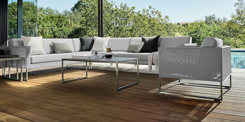 In The Market For New Outdoor Furniture Crate Barrel With