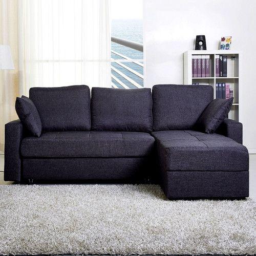 casablanca 3 seater clic clac corner sofa bed wayfair uk. Black Bedroom Furniture Sets. Home Design Ideas