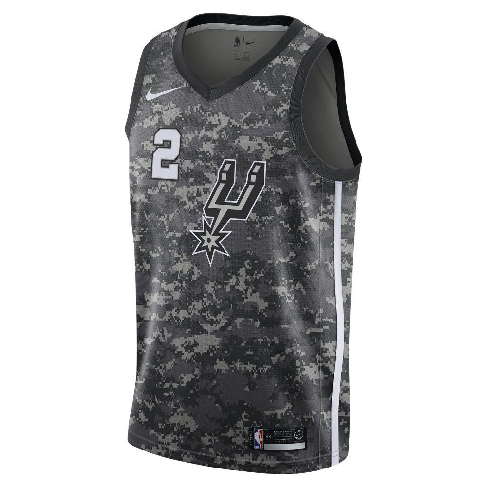 f98ef995167 Kawhi Leonard City Edition Swingman Jersey (San Antonio Spurs) Men s Nike  NBA Jersey Size XL (Black)