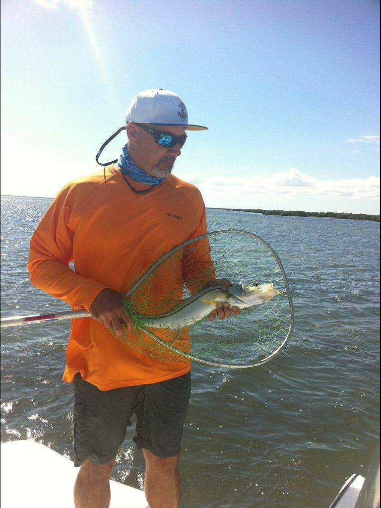 Snook in South Bay on top water Fishing photos, South