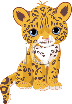 Cartoon Baby Animals Royalty Free Wildcats Clip Art Big Cat