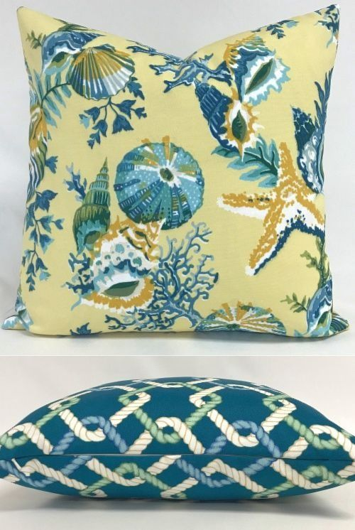 Coastal Beach Throw Pillow Covers In 40 Coastal Pillows Beach Delectable Coastal Throw Pillow Covers