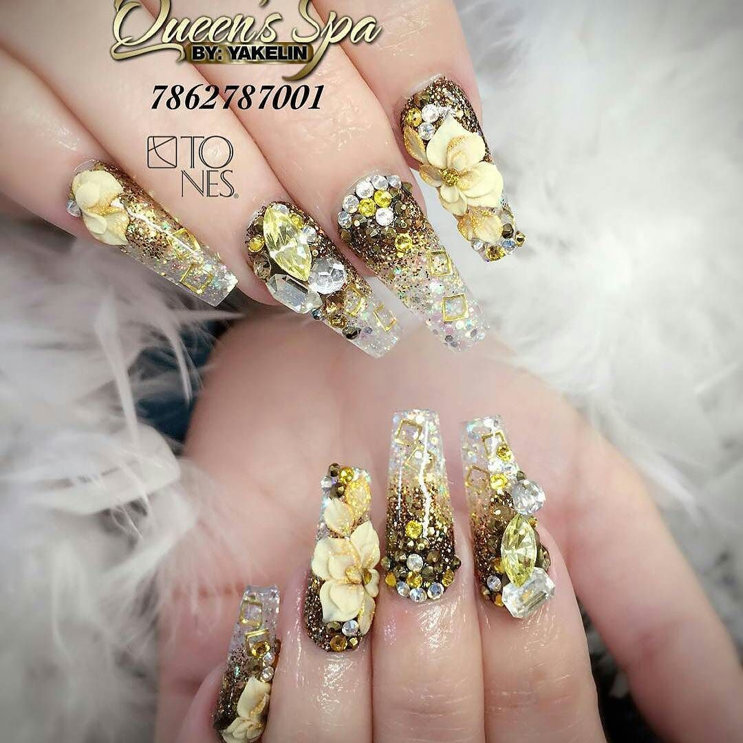 Amazing Nail Art Made Using Tones Products | Arte de uñas ...