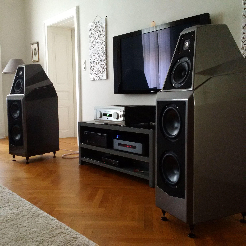 Wilson Audio Sasha Stereo System Pinterest Audio Audiophile  # Meuble Tv Wilson