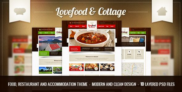 Lovefood & Cottage food and PSD Cottage