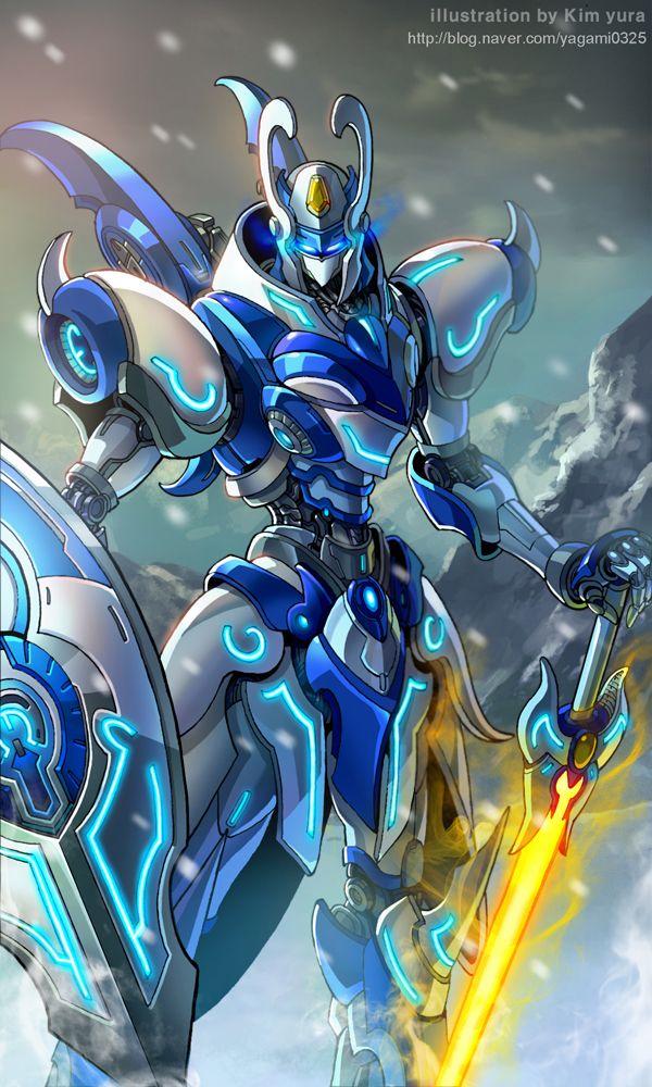 Mechanical warriors V Mnemosyne by GoddessMechanic