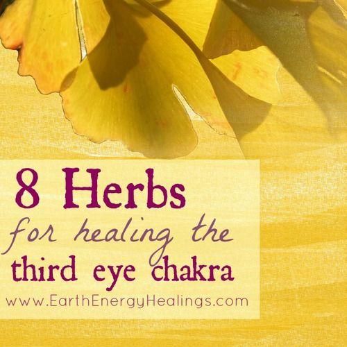8 Herbs for Healing the Third Eye Chakra. www.earthenergryhealings.com/blog